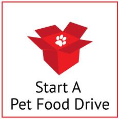 Start A Pet Food Drive