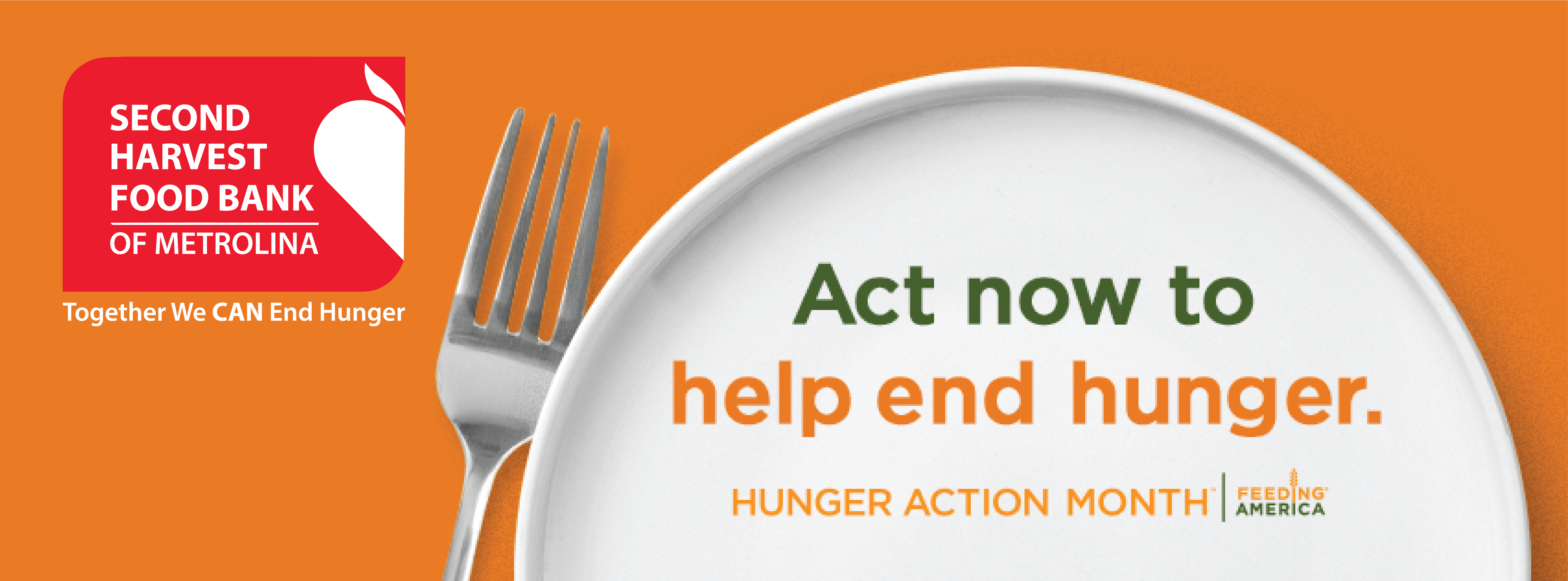 Hunger Action Month Header