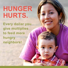 Neighbors facing hunger need your help today.