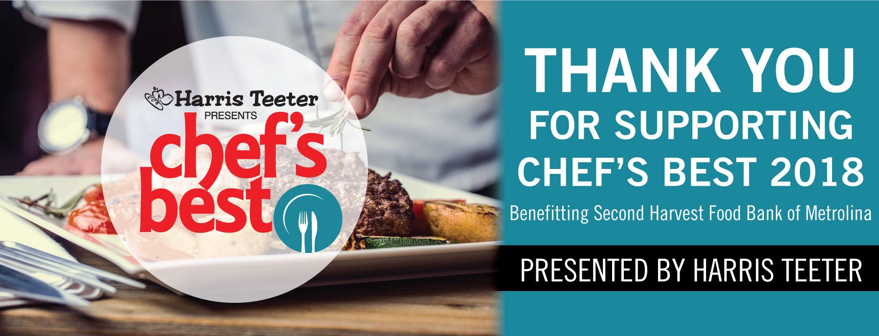 Chef's Best Banner
