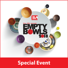 Empty Bowls 2018