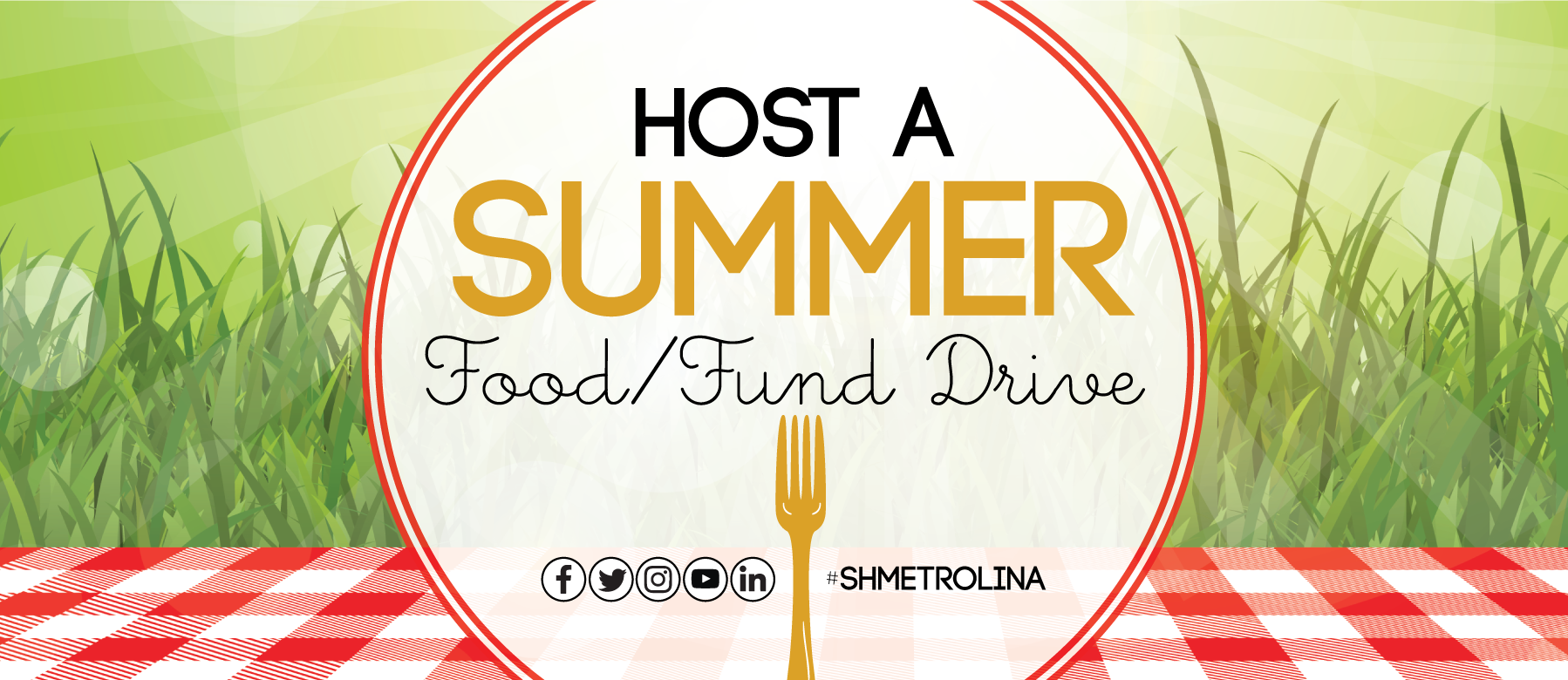 Host A Summer Food/Fund Drive