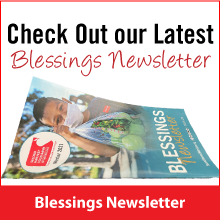 Check Out our Latest Blessings Newsletter