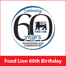 Food Lion Celebrates 60th Birthday