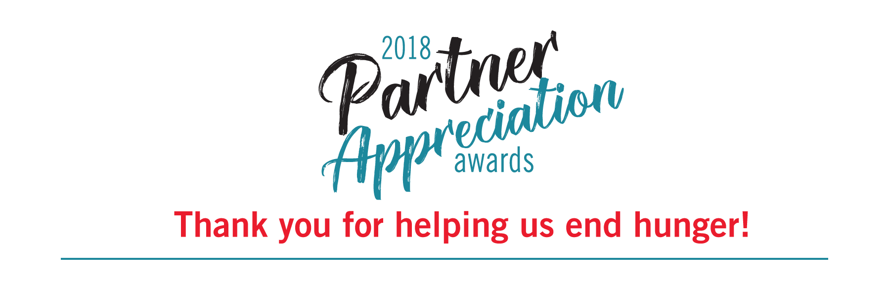 Partner Appreciation 2018