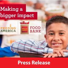 Wells Fargo Food Bank Press Release