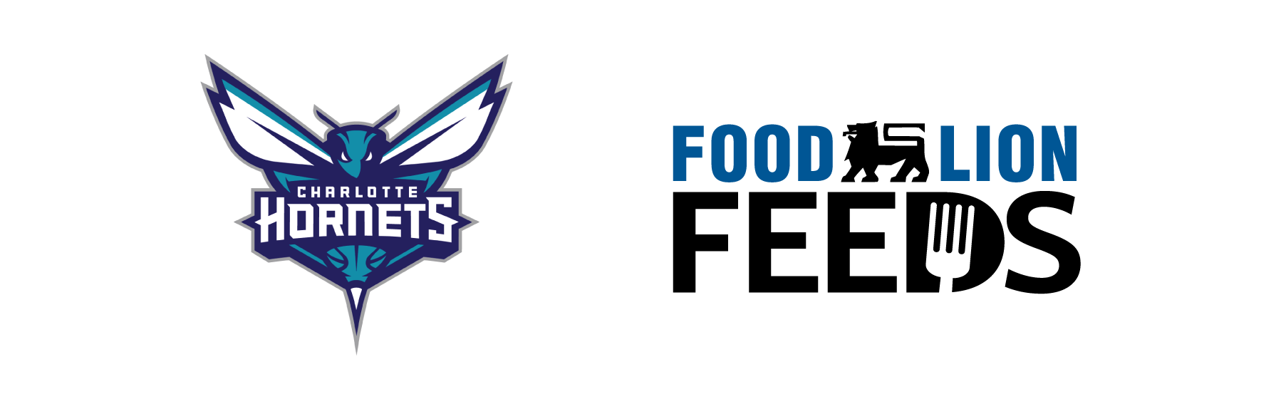 Hornets and Food Lion Feeds Logos